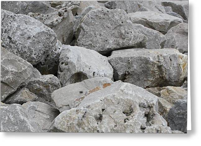 If Rocks Could Talk Greeting Card by Terry Scrivner