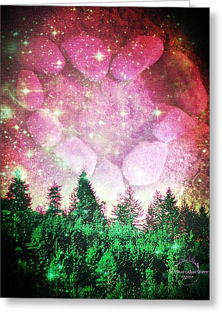 If The Sky Was Pink... Greeting Card by Absinthe Art By Michelle LeAnn Scott