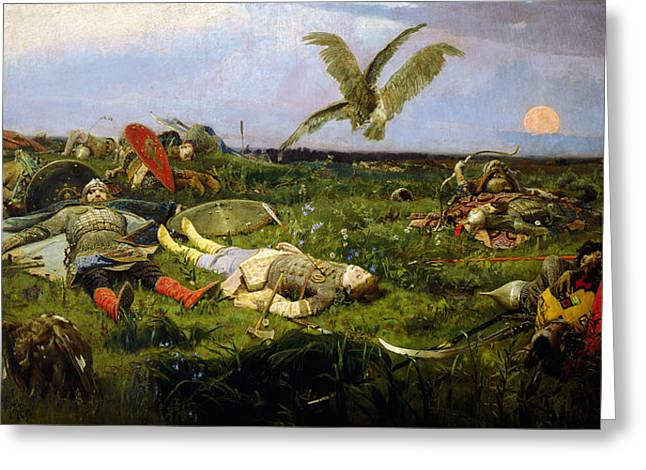 Igorsvyat Viktor Vasnetsov Greeting Card by MotionAge Designs