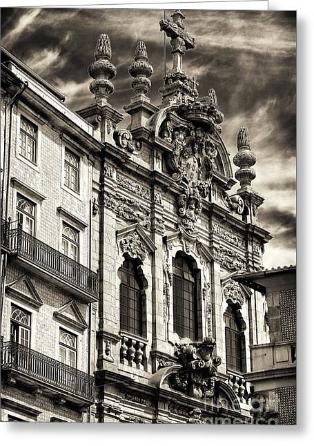 Igreja Da Miscericordia Greeting Card by John Rizzuto