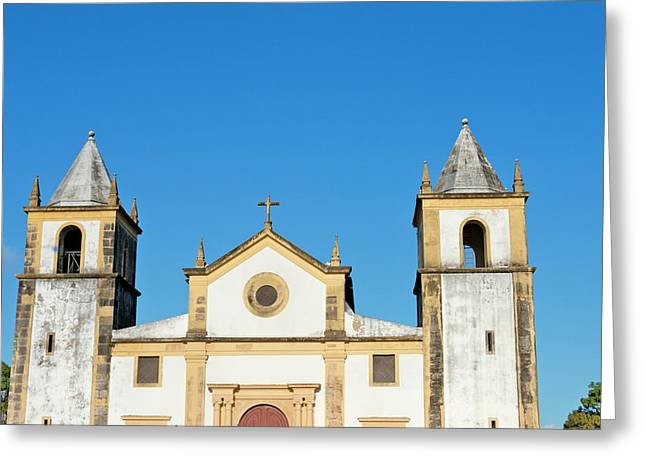 Igreja Da Se, Olinda (unesco World Greeting Card by Keren Su