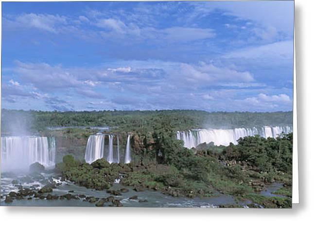 Iguazu Falls Iguazu National Park Brazil Greeting Card
