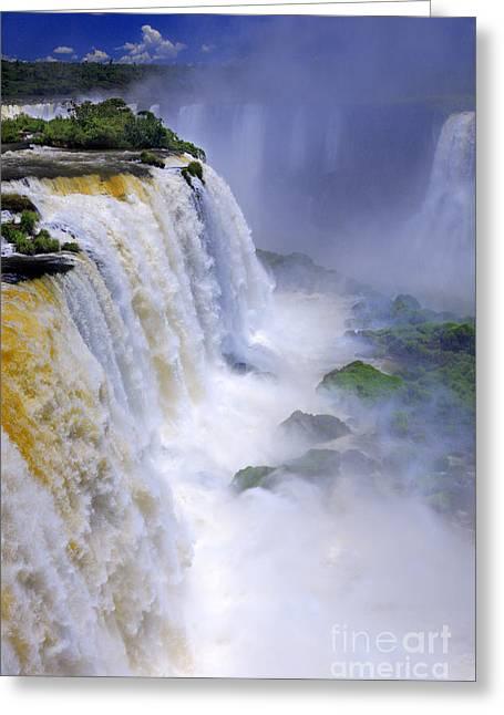 Iguazu Falls IIi Greeting Card