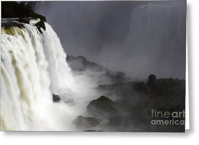 Iguazu Falls South America 11 Greeting Card by Bob Christopher