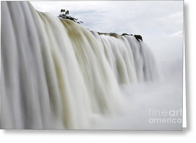Iguazu Falls South America 7 Greeting Card by Bob Christopher
