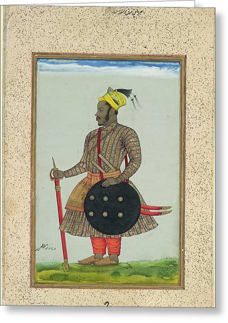 Ikhlas Khan Greeting Card by British Library