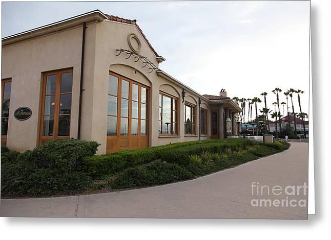 Il Fornaio Italian Restaurant In Coronado California 5d24362 Greeting Card
