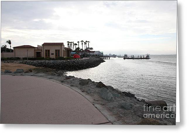 Il Fornaio Italian Restaurant In Coronado California 5d24370 Greeting Card by Wingsdomain Art and Photography