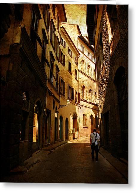 Il Turista Greeting Card by Micki Findlay