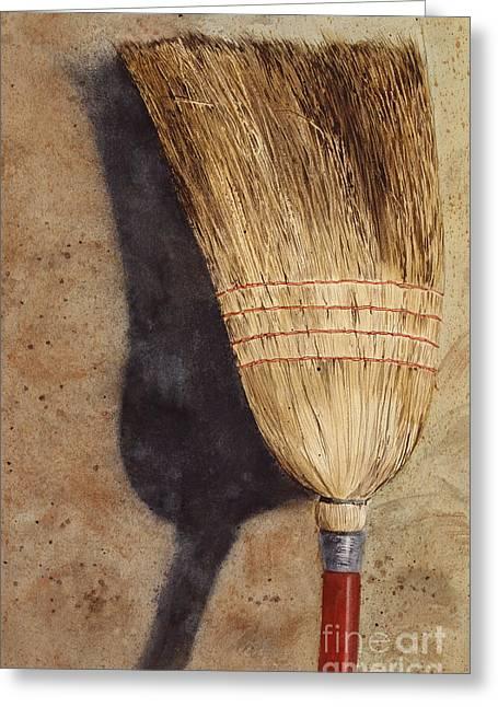 Ila Jean's Broom Greeting Card