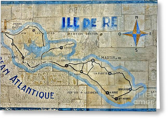 Ile De Re Greeting Card