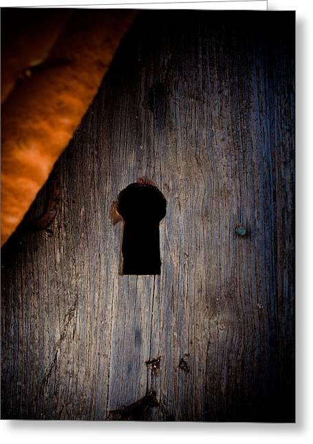 I'll Be Watching You Greeting Card by Georgina Noronha