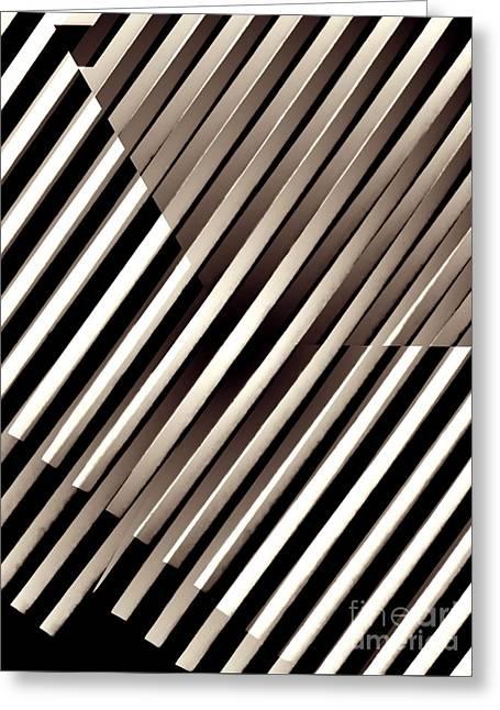 Illusion In Sepia Greeting Card