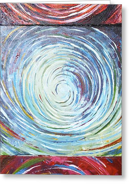 Illusions Greeting Card by Monica Veraguth