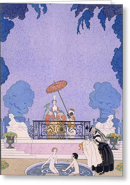 Illustration From A Book Of Fairy Tales Greeting Card