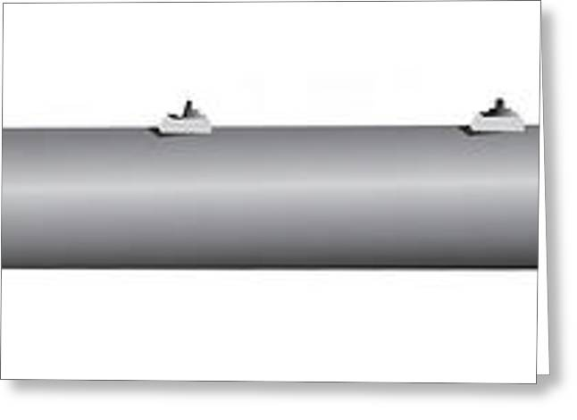 Illustration Of A Gbu-28 Laser Guided Greeting Card