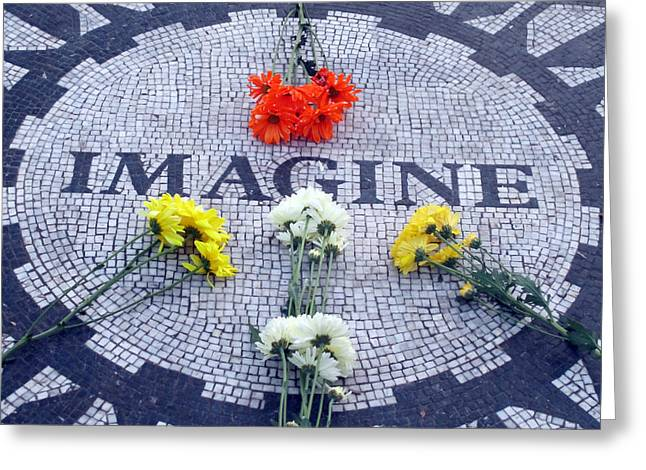 Imagine Greeting Card by Mike Podhorzer