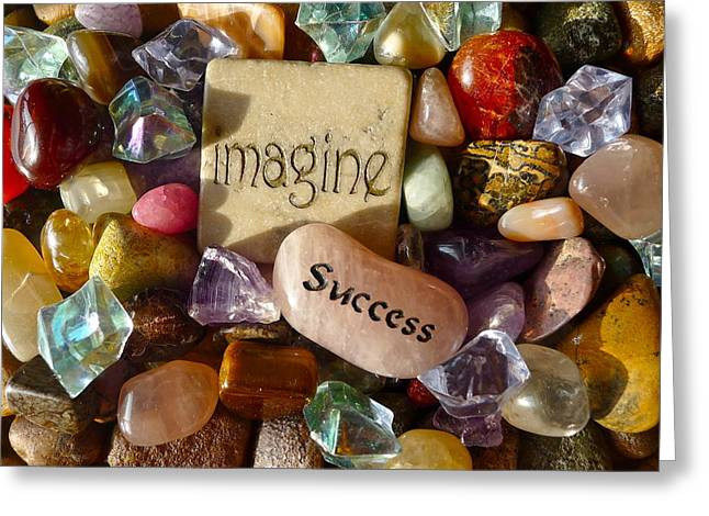 Imagine Success Greeting Card