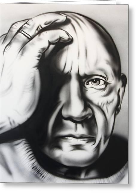 Pablo Ruiz Y Picasso Greeting Card