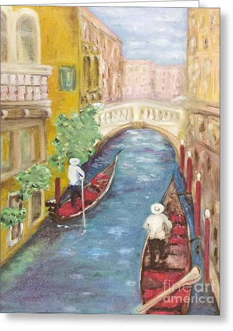 Immortal Venice Greeting Card