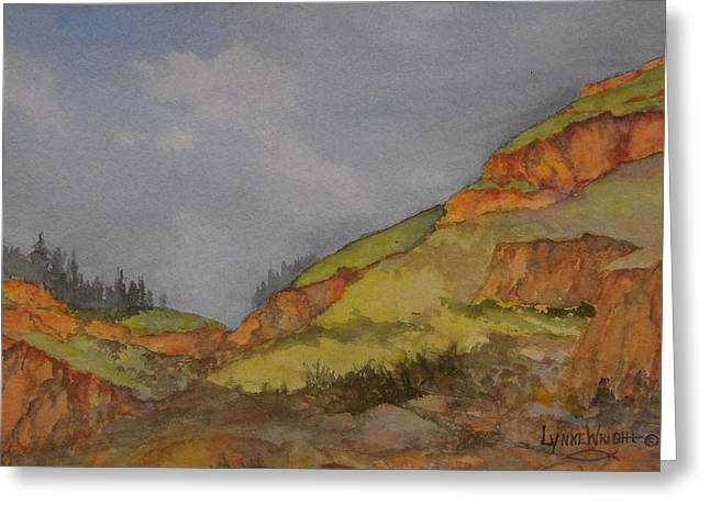 Imnaha Bluffs Greeting Card