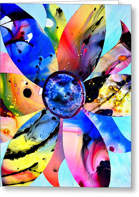 Greeting Card featuring the digital art Imperfection by Christine Ricker Brandt