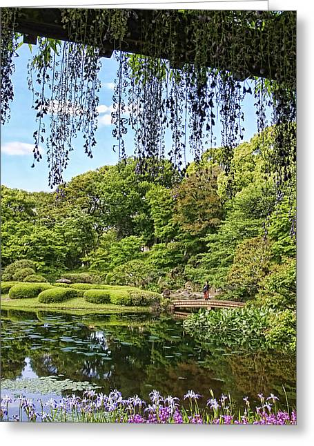 Imperial Gardens Greeting Card