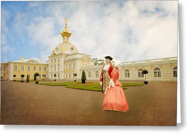 Imperial Peterhof Greeting Card by Roy  McPeak