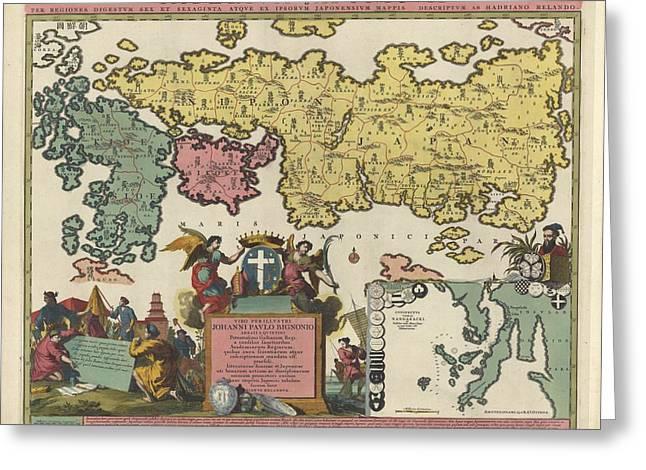 Imperium Japonicum Greeting Card