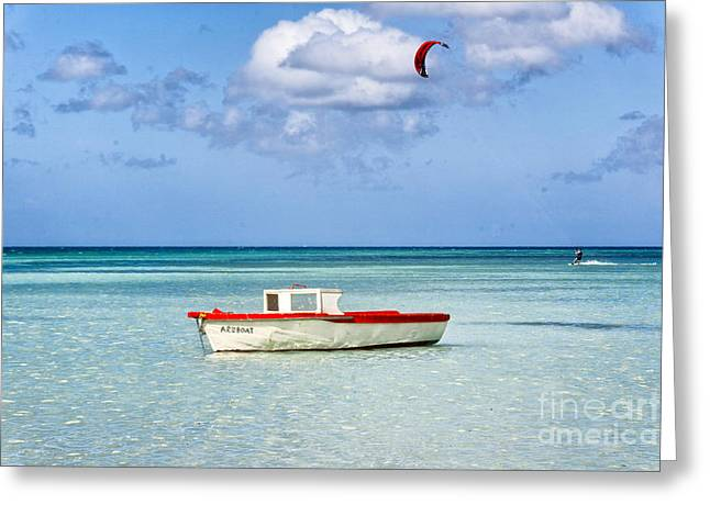Impression Of Aruba  Greeting Card