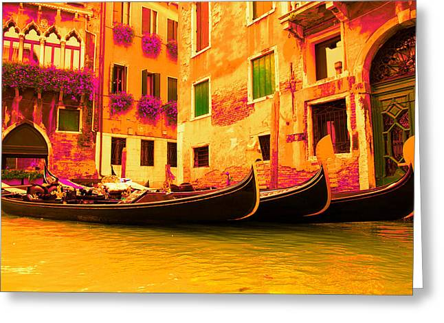 Impressionistic Photo Paint Gs 007 Greeting Card by Catf