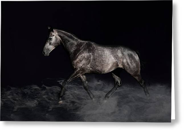 Impulsion Greeting Card by Pamela Hagedoorn