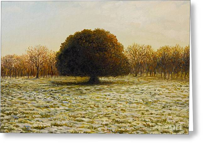 In Anticipation Of The Spring Greeting Card by Kiril Stanchev