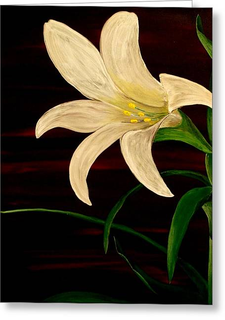 In Bloom Greeting Card by Mark Moore