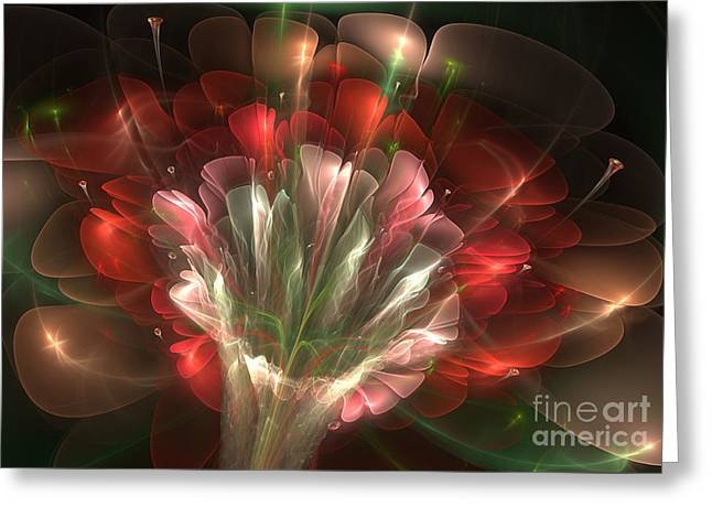 In Bloom Greeting Card by Svetlana Nikolova
