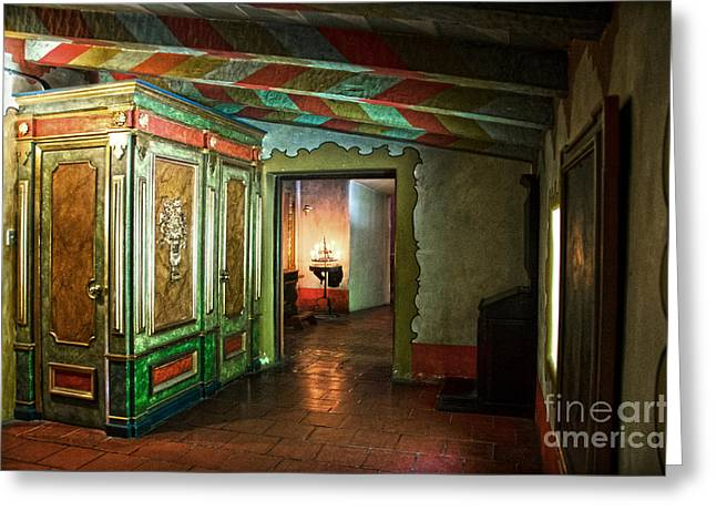 In Carmel Mission Greeting Card by RicardMN Photography