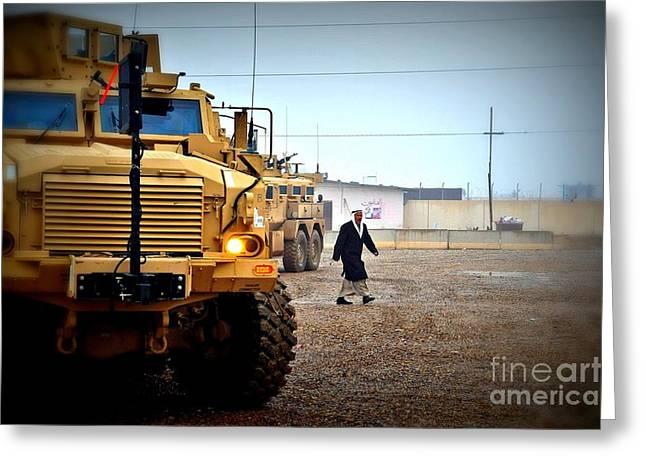 In Iraq Greeting Card by Liesl Marelli
