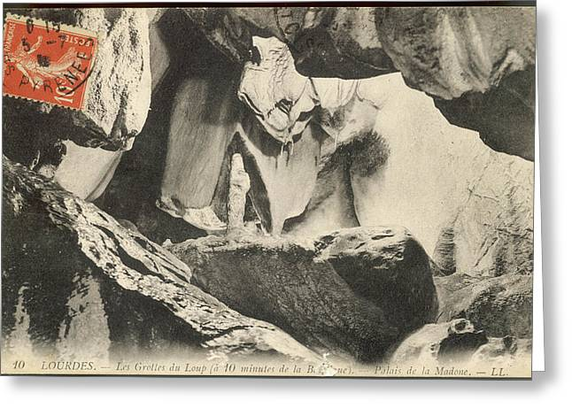 In Les Grottes Du Loup (grotto Greeting Card