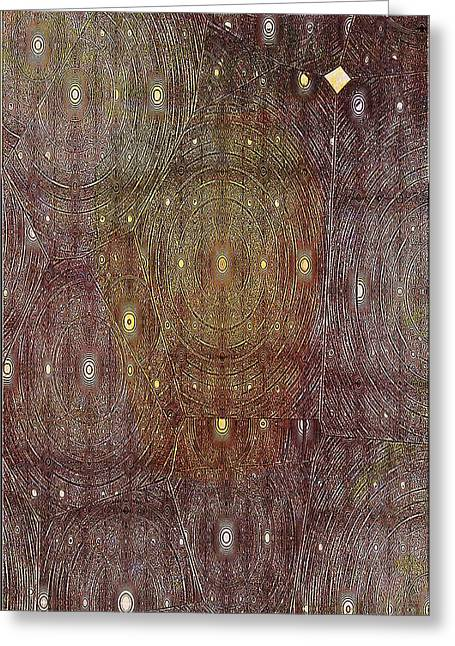 In Portals Of Dreams Greeting Card by Jeff Swan