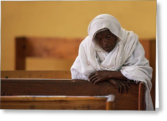 In Prayer Greeting Card