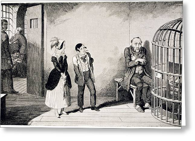 In Prison Greeting Card by British Library