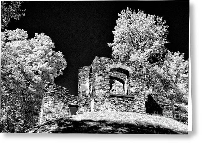 In Ruins Greeting Card by Paul W Faust -  Impressions of Light
