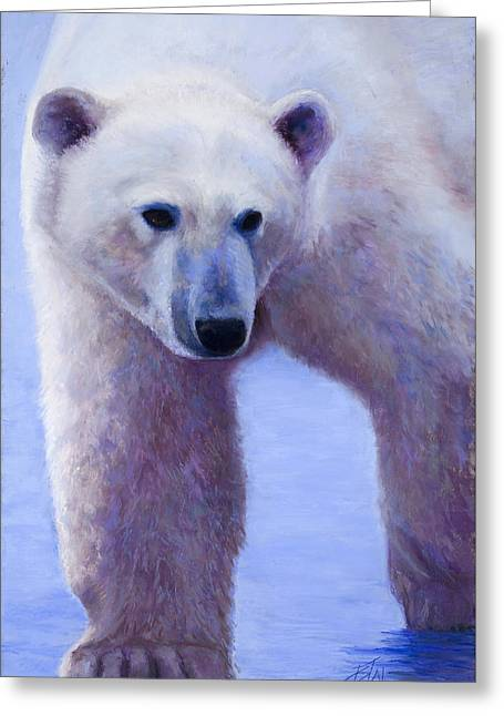 In Search Of Greeting Card by Billie Colson