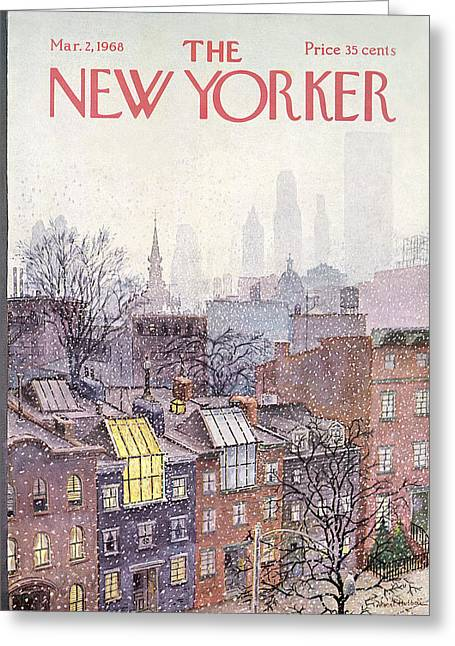 New Yorker March 2, 1968 Greeting Card