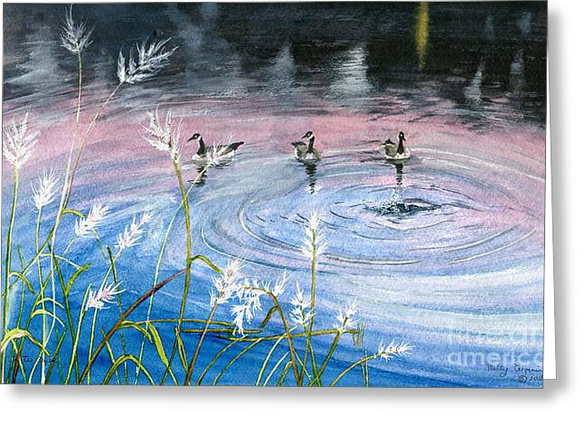 In The Dusk Greeting Card by Melly Terpening