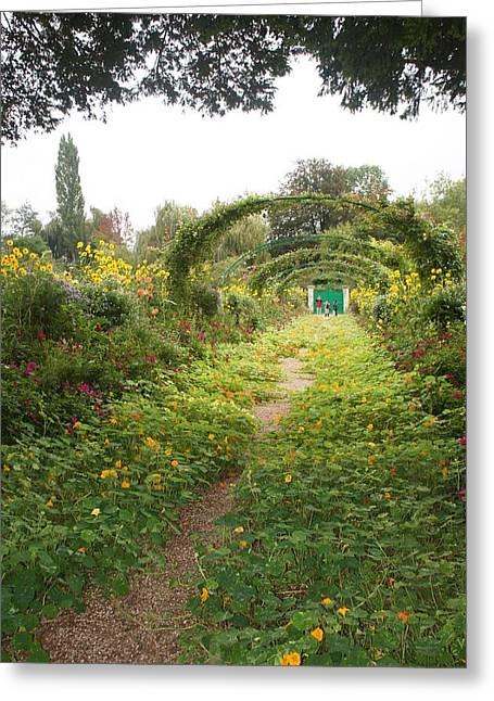 In The Garden  Greeting Card by Kristine Bogdanovich