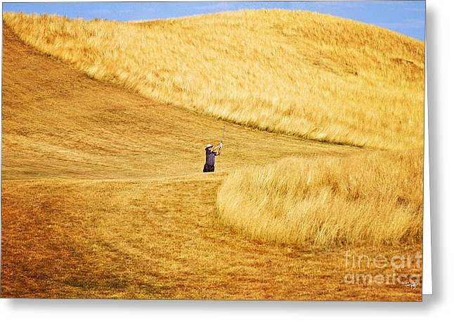 In The Hills Greeting Card by Scott Pellegrin