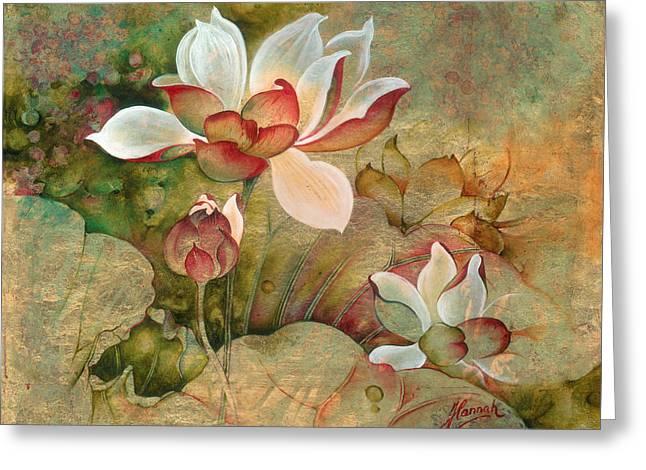In The Lotus Land Greeting Card