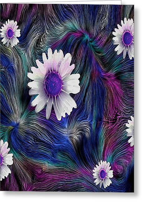 In The Magic Forest In The Temple Of Colors Greeting Card