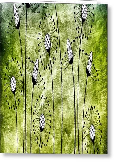 In The Meadow 1 Greeting Card by Angelina Vick